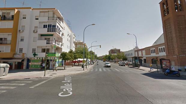 Calle Samaniego en Sevilla donde se han vendido seis cupones agraciados