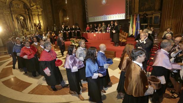 El solemne acto de apertura del Curso Académico de las Universidades Públicas de Andalucía