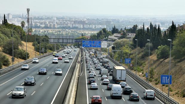 Autovía a-49, que une Sevilla y Huelva