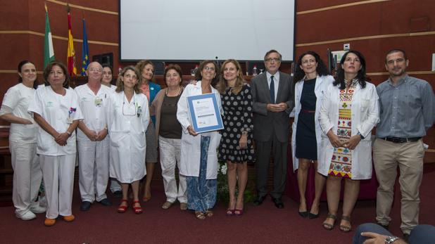 Acreditación de calidad de 14 unidades este miércoles en el Hospital Virgen del Rocío