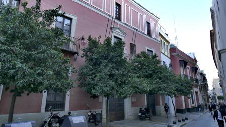 Palacio de los Condes de Ybarra, en la calle San José