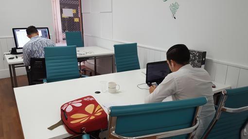 Una de las tres salas del espacio Grow Working de Sevilla