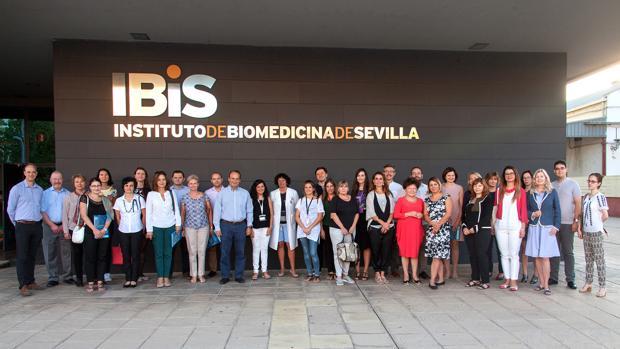 Participantes en la jornada internacional «Exchange Program in Parkinson's Disease»
