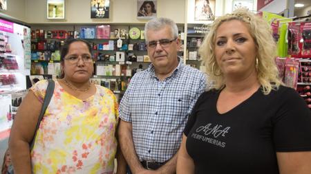Lenis Galvis, Juan Carlos García y Mariola Navarro