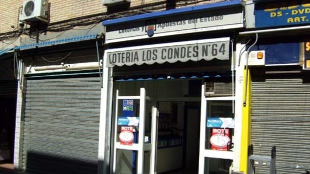 La adminitración de Loterías número 64 de Sevilla ha repartido 300.000 euros de la Lotería Nacional