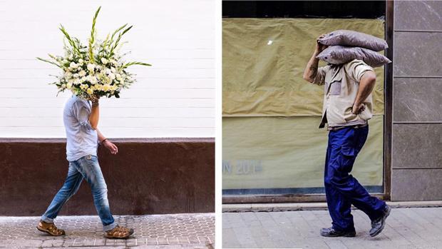 Dos de las fotografías de José Toro presentes en su perfil de Instagram