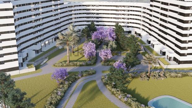 El nuevo barrio Jardines Hacienda Rosario tendrá zonas verdes privadas e instalaciones deportivas
