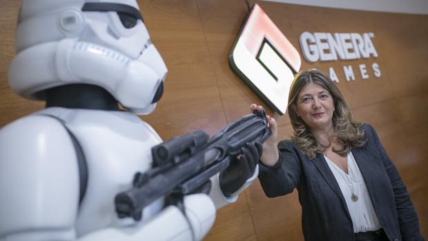 Genera Games, cofundada por María Jesús Piñas, ha diseñado más de cien videojuegos desde 2008