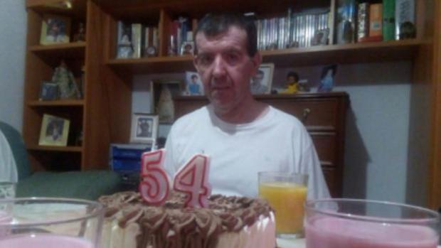 Javier en su último cumpleaños