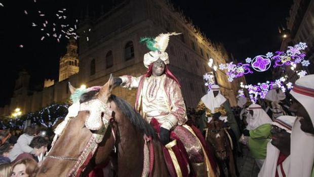 El Heraldo del año pasado en las vísperas de la Cabalgata de los Reyes Magos de Sevilla