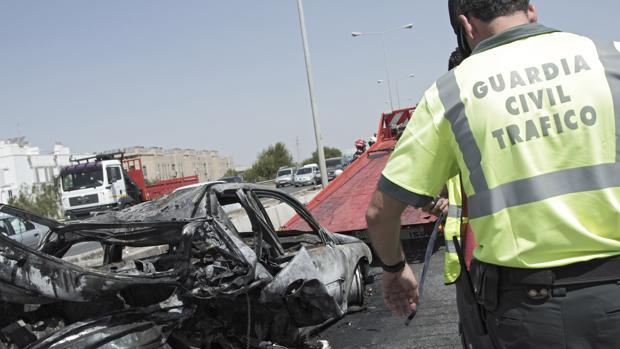 En la provincia de Sevilla se registraron en 2017 un total de 31 accidentes de tráfico mortales, con 35 muertos y 25 heridos