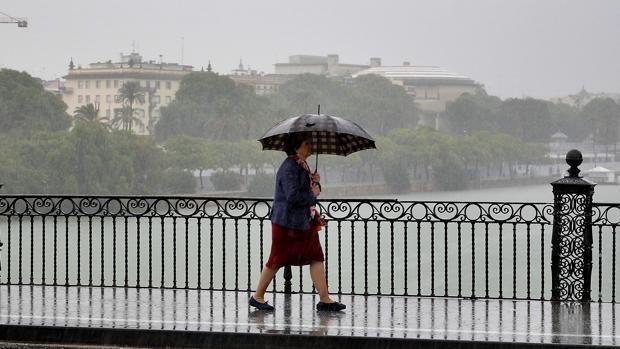 A mitad de semana habrá una tregua de lluvia en Sevilla