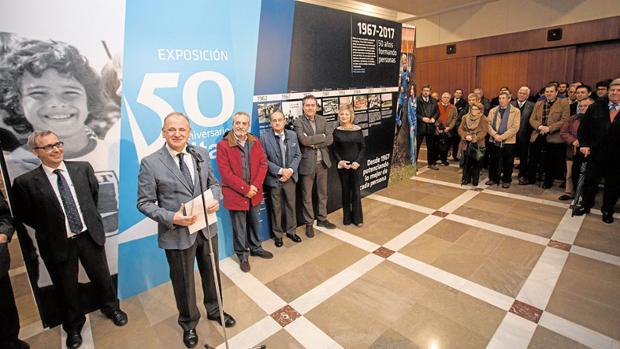 Inauguración de la exposición que conmemora los 50 años de Altair