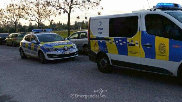 Dispositivo policial desplegado en la zona