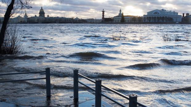 Imagen de archivo de una ciudad marítima