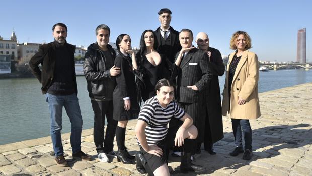 Este lunes se ha presentado en Sevilla «La familia Addams»