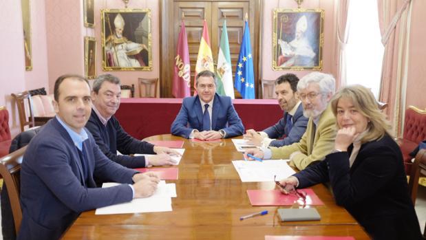 Sesión del Patronato de la Fundación presidida por Juan Espadas