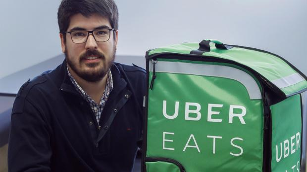El director general de Uber Eats, Manel Pujol