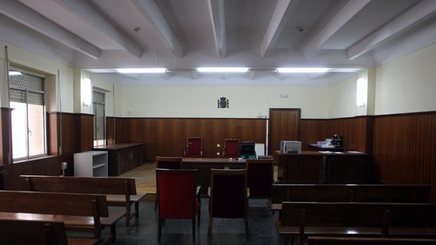 Una sala de juicios del Prado