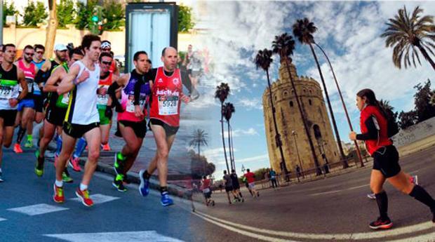 Este domingo se celebra la media maratón en Sevilla