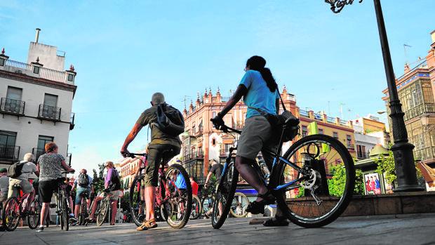 La ruta en bicicleta es una de las opciones más demandadas