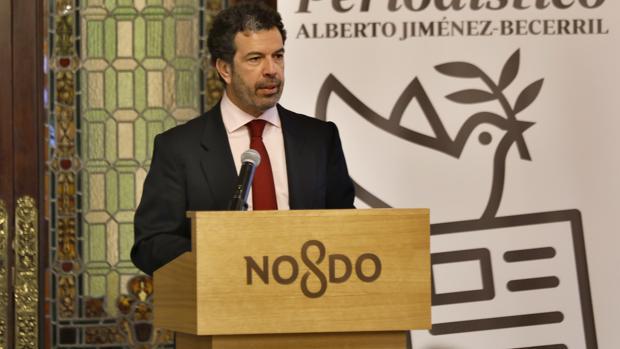Ricardo Villena, gerente de la Fundación Jiménez-Becerril
