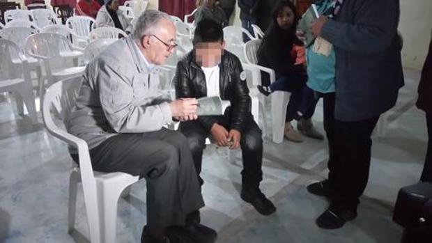 Jesús Olmedo en una foto de archivo en la misión claretiana en Humahuaca