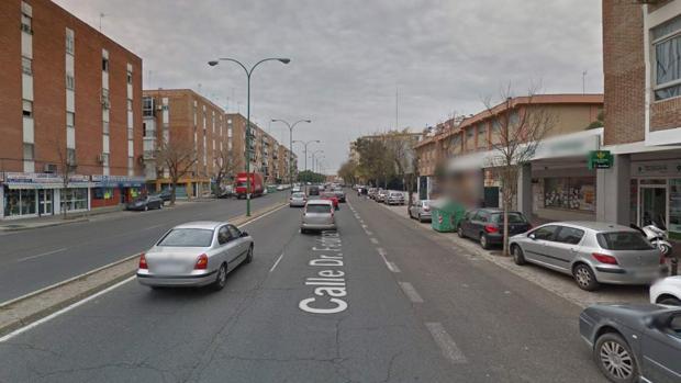 Calle Doctor Fedriani, donde se ha producido la supuesta agresión