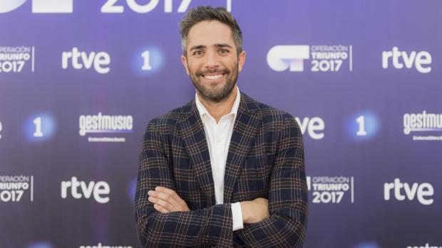 Roberto Leal en la presentación de Operación Triunfo