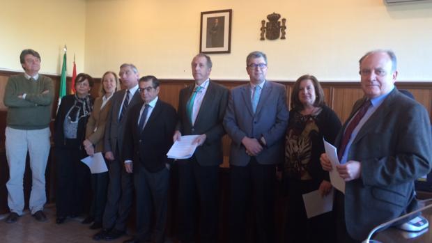 Los magistrados de las secciones penales de la Audiencia Provincial de Sevilla