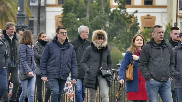 Temporal de frío en Sevilla