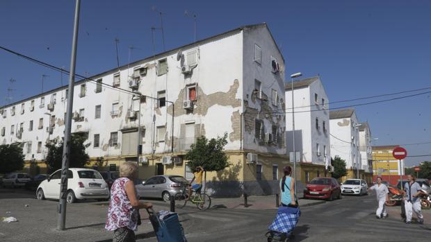 Imagen de una de las calles de los Pajaritos