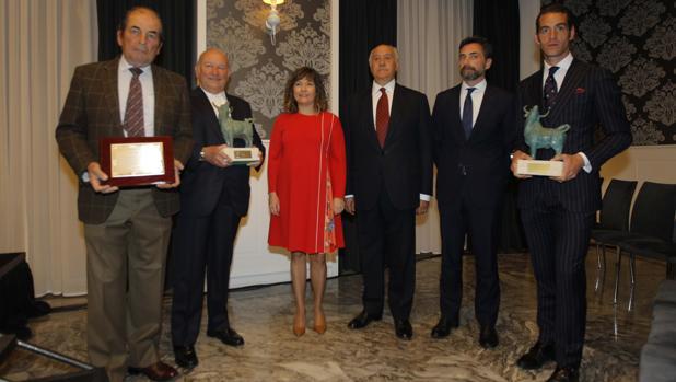 Los galardonados como autores de lo más destacado de la Feria de Abril