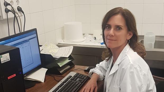 La doctora María de los Ángeles Pizarro Moreno