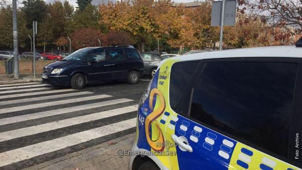 El vehículo que prestaba sus servicios clandestinos, una vez detenido su conductor