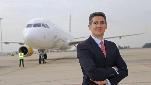 Jesús Caballero, director del aeropuerto de Sevilla