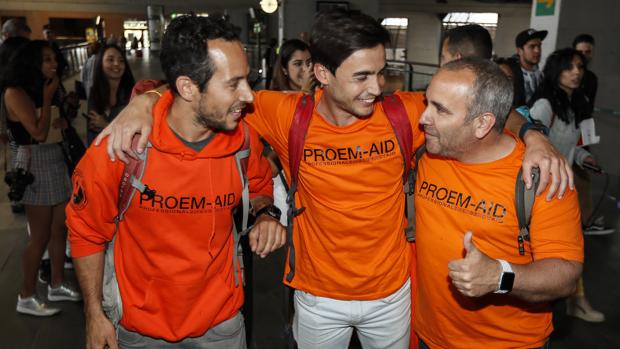 Los bomberos sevillanos absueltos en Lesbos recibirán la Medalla de Sevilla