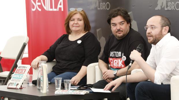 Rosa García Perea, Ignacio Díaz Pérez y José María Rondón
