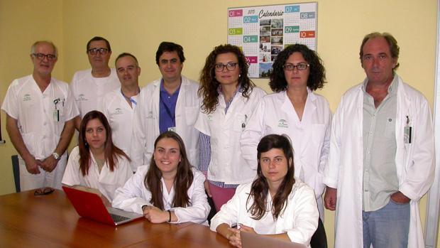 Equipo de investigación de enfermedades infecciosas del hospital de Valme