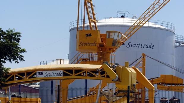 Instalaciones de Sevitrade en el Puerto de Sevilla