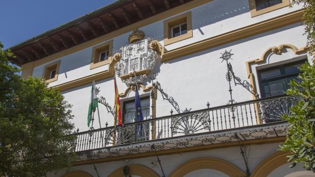 Fachada principal del Pabellón Vasco