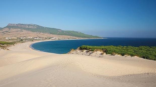 Playa de Bolonia, Cádiz.