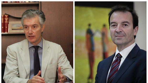 Javier Rufino y Luis Fernández Arévalo