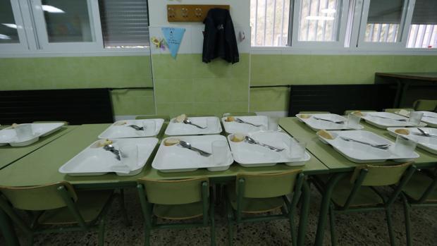 Las ampas invitan a la delegada de educaci n en sevilla a almorzar en un comedor escolar - Comedores escolares malaga ...