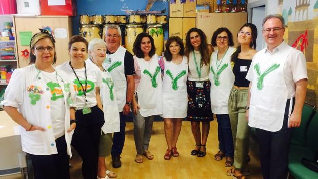 Voluntarios del Hospital Virgen Macarena de Sevilla