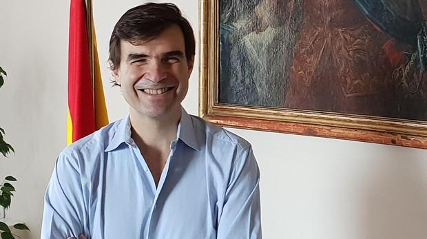 Juan González-Barba, en la embajada de España en Turquía