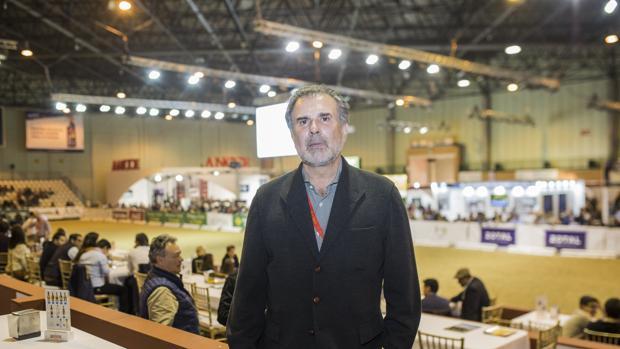 Abelardo Morales, este jueves en Sicab