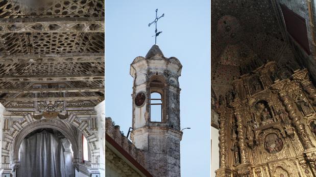 Santa Clara, San Lázaro y Madre de Dios, templos cerrados por la desidia de las administraciones