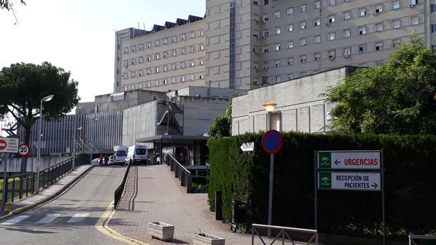 Acceso a la zona de Urgencias del Hospital de Valme