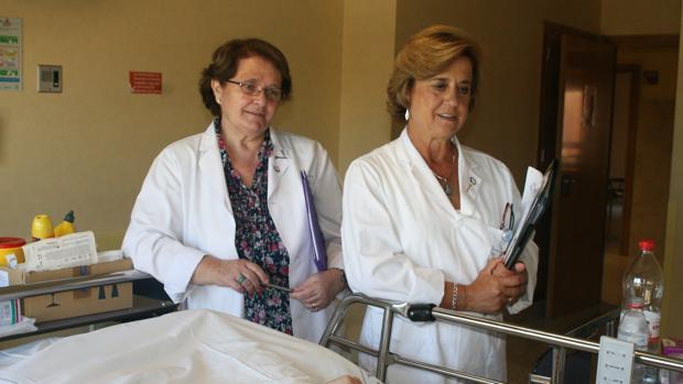 Voluntarias del hospital de San Juan de Dios del Aljarafe
